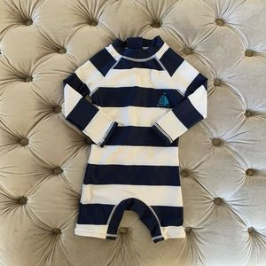Bonaverano Rash Guard Infant Swimsuit - 9-12 mos
